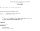 August 15, 2019 Board Minutes