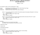 January 17, 2019 Board Minutes