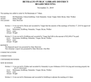 November 21, 2019 Board Minutes