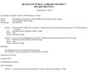 February 20, 2020 Board Minutes